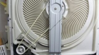 衣類乾燥機 乾かない 丸ベルト 交換