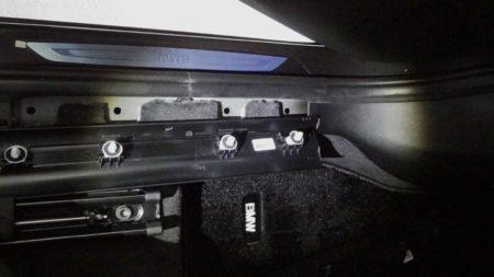 ルームミラー セキュリティ LED