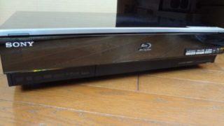 SONY ブルーレイレコーダー BDZ-X90 HDD換装 分解 掃除