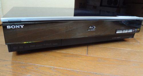 ソニー ブルーレイレコーダーBDZ-X90の分解クリーニングと部品交換