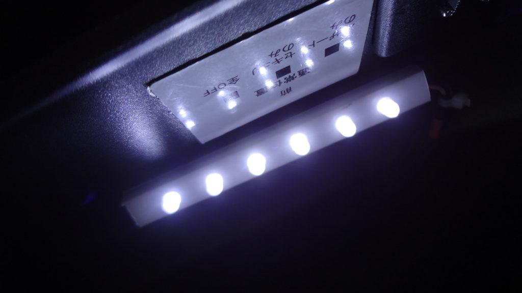 配線モール LED 照明 フットライト