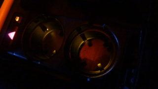 フロントドリンクホルダ照明