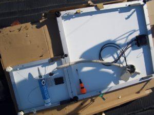 ソーラパネル増設および移設