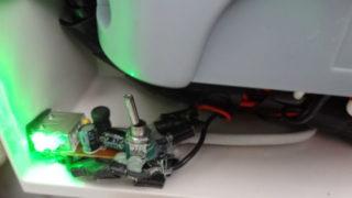 チャージコントローラボックス 排熱 シガーライタUSB充電器