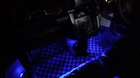 ハスラー MR41S フットライト フロアライト LED イルミネーション