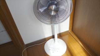 扇風機の壊れた操作スイッチを交換