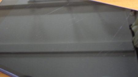 液晶画面の傷を酸化セリウムで研磨