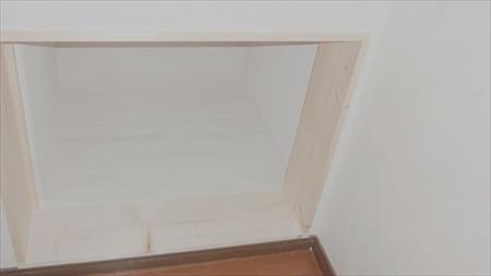 階段吹抜け部屋収納