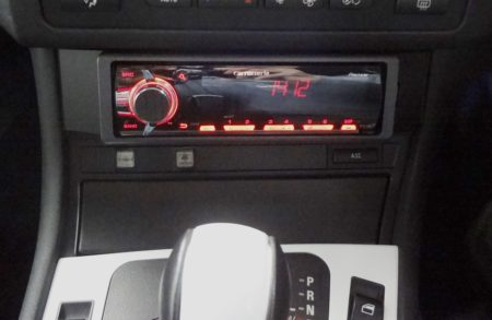 MVH-790 BMW E46 小物入れ オーディオデッキ 取付