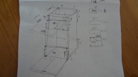 テラステーション(サーバー)スタンド 製作