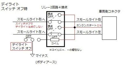 ポジション デイライト   回路