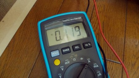 家電製品電流測定