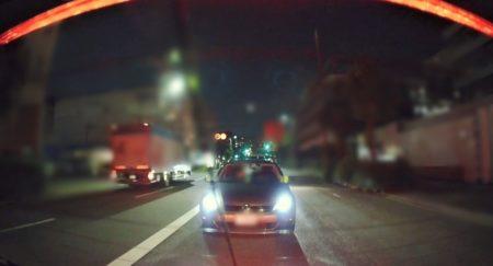 前後側面ドライブレコーダー 夜間