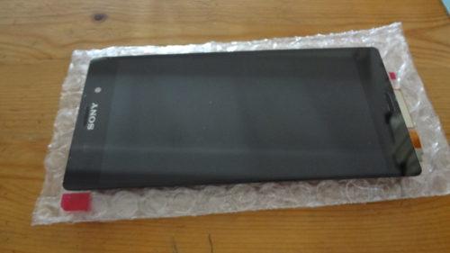 Xperia Z2 キズが消えなかった液晶パネルの交換はかんたんだった。