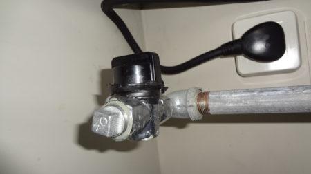 ビルトイン ガスコンロ IHヒータ ガス閉栓